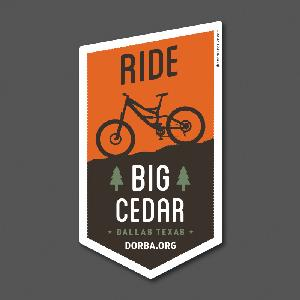 Big Cedar Sticker