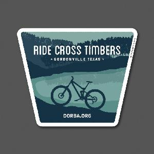 Cross Timbers Sticker