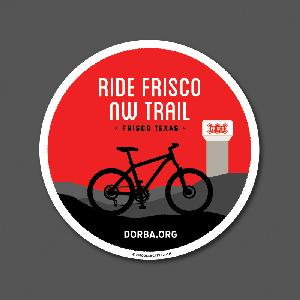 Frisco NW Trail Sticker