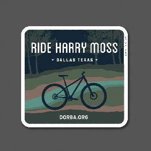 Harry Moss Sticker