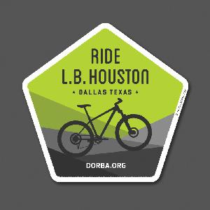 LB Houston Sticker